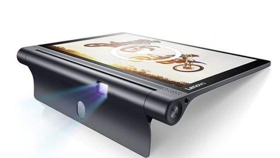 Lenovo vuelve a sorprender con la Yoga Tab 3, una nueva tableta con proyector
