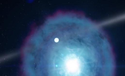 Todo preparado para los mayores «fuegos artificiales» de la galaxia