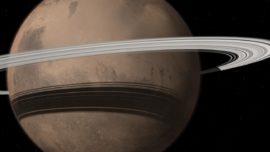 Marte, a punto de tener un anillo como Saturno