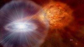 Hallan en la Tierra posibles restos de una estrella muerta