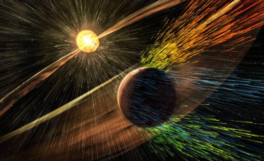 Así «desnudan» las estrellas a sus planetas