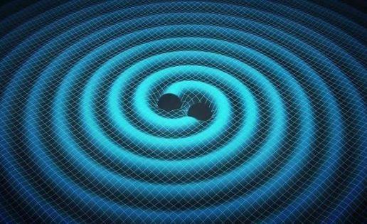 ¿Un fogonazo de luz junto a las ondas gravitacionales?