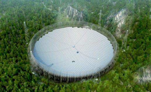 El mayor radiotelescopio del mundo buscará señales de vida inteligente