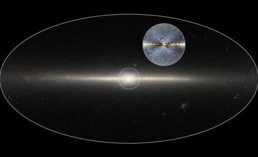 ¿Por qué el centro de nuestra galaxia está «marcado» por una enorme X?
