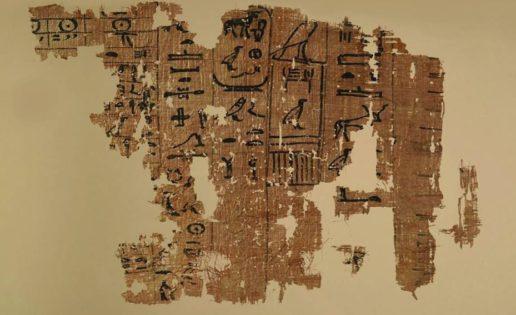 Expuesto al público el papiro que desvela el misterio de la construcción de la Gran Pirámide