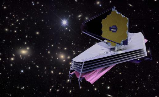 James Webb, el telescopio espacial que mide lo mismo que una cancha de tenis