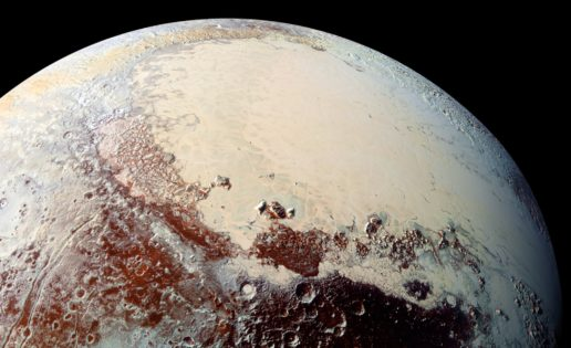 ¿Está Plutón formado por mil millones de cometas?