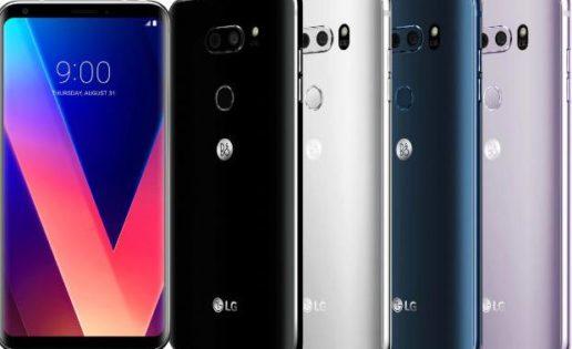 LG desvela el V30, su respuesta contra el Samsung Galaxy S8