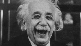 Sale a la luz la «teoría de la felicidad» de Einstein