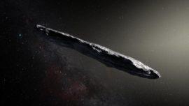 Adiós al primer visitante interestelar de la Historia