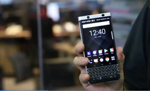 Blackberry KeyOne, el móvil Android más seguro