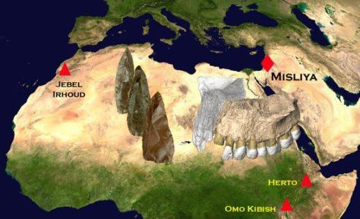 Los humanos salieron de África 50.000 años antes de lo que se creía