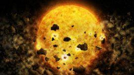 Observan, por primera vez, a una estrella «devorando» planetas