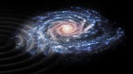 Detectan una extraña perturbación en la Vía Láctea