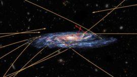 Descubren estrellas volando hacia nuestra galaxia a toda velocidad