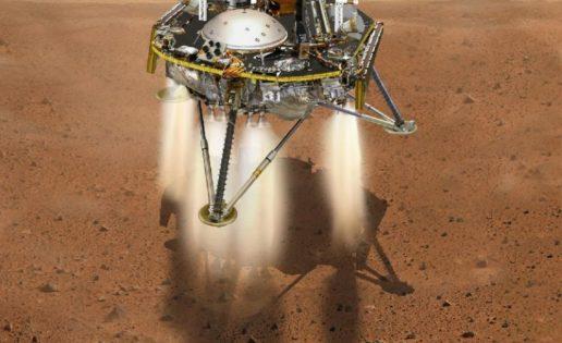 """Mars Insight aterriza hoy en Marte en busca de """"martemotos"""""""