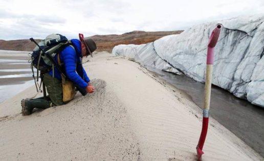 Hallan uno de los cráteres de impacto más grandes del mundo bajo los hielos de Groenlandia