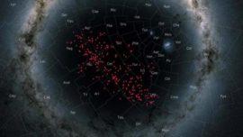 Descubren un enorme «río de estrellas» muy cerca de la Tierra