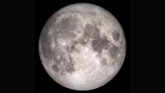La Luna lanza al espacio 200 toneladas de agua cada año