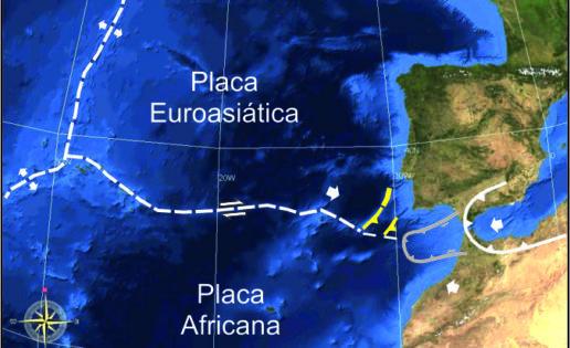 La corteza terrestre podría estar partiéndose frente a las costas de Portugal