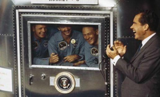 El plan secreto de Nixon para anunciar la muerte de los astronautas del Apolo 11