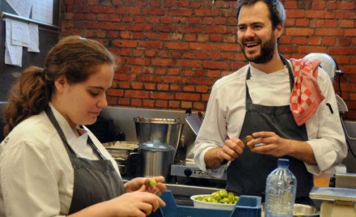 """Los Flemish Foodies, tres """"locávoros"""" de Gante"""