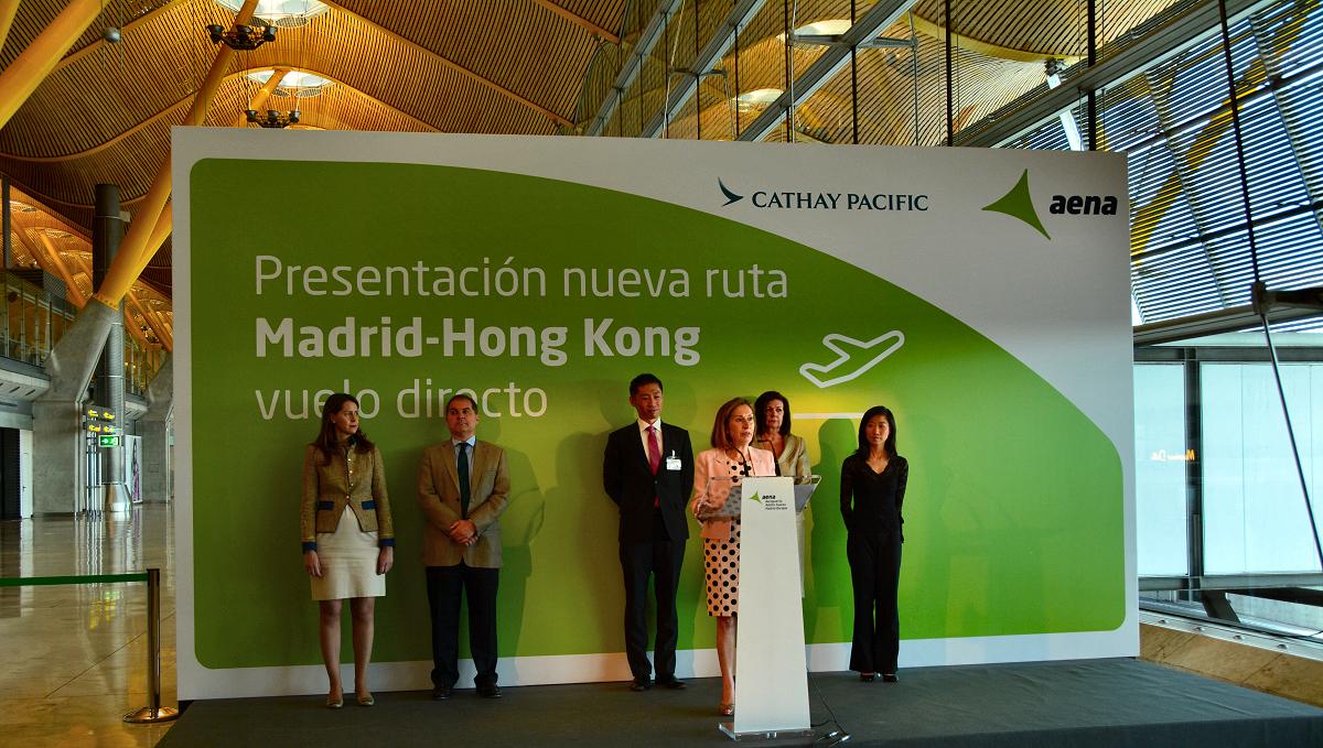 Madrid ya tiene vuelo directo a hong kong orientaciones for Oficina directa pastor