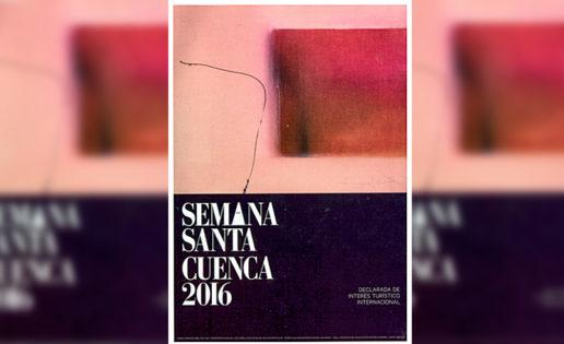 ¿Puede este cartel representar a la Semana Santa de Cuenca?