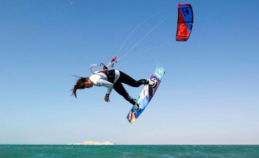 Gisela Pulido, campeona del mundo de kitesurf