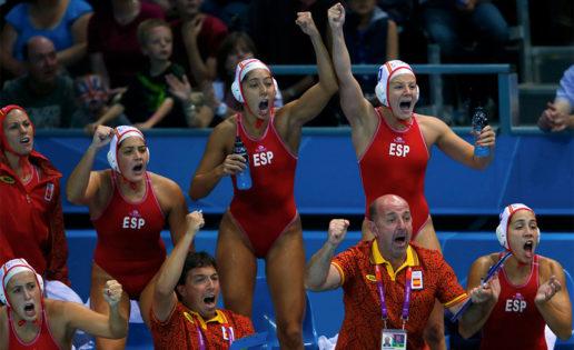 La selección española de waterpolo en el campeonato de Europa 2014