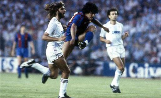 Maradona debuta con el FC Barcelona