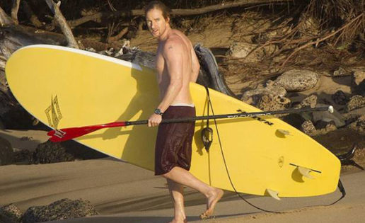 Stand up paddle surfing el deporte de moda de las celebrities