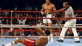 Muhhamad Ali y George Foreman. 40 años del combate de boxeo más famoso