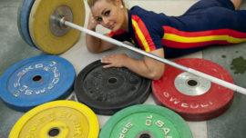 Todos con Lidia Valentín, nuestra campeona de halterofilia