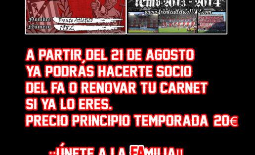 El Atlético de Madrid expulsa al Frente Atlético