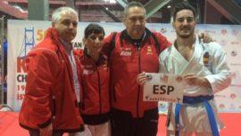 España taekwondo oro en Campeonato de Europa 2015
