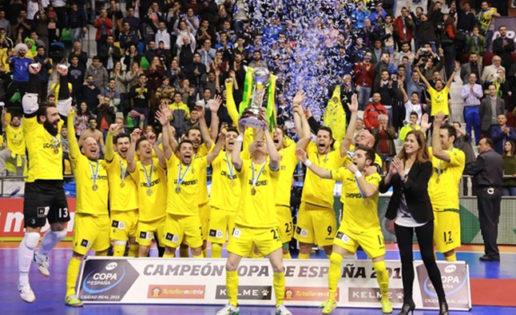 Jaén Paraíso Interior, campeón de la Copa de España de fútbol sala