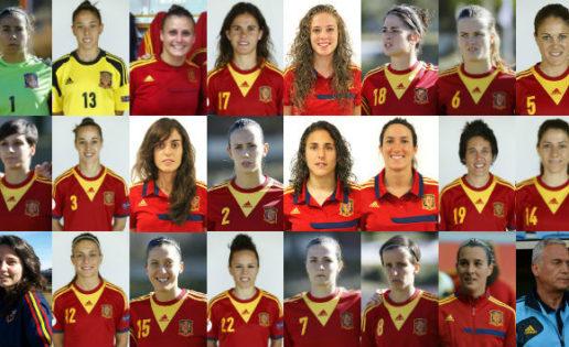 España-Costa Rica. Mundial de fútbol femenino 2.015