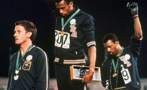 Peter Norman, John Carlos y Tommie Smith – imagen histórica, historia desconocida