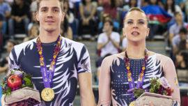 Sara Moreno y Vicente Lli campeones de Europa