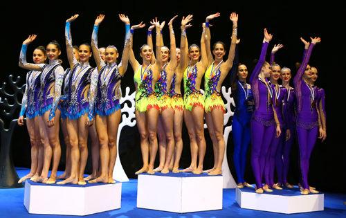 Nuevo éxito del equipo español de gimnasia rítmica