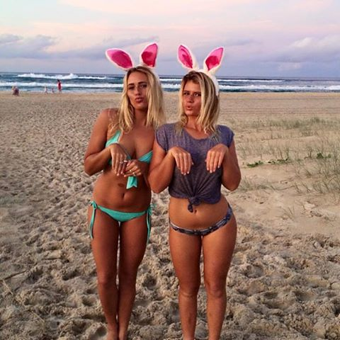 Hermanas ¿surfistas?