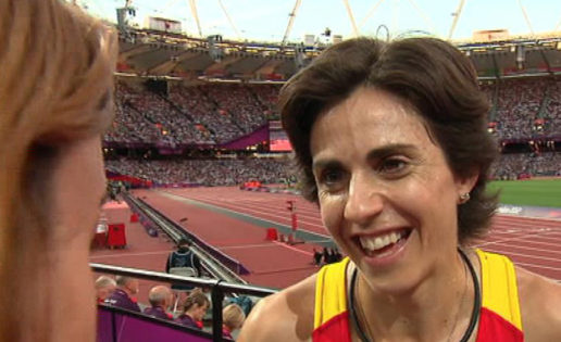 Nuria Fernández quiere conciliar ser madre y atleta olímpica
