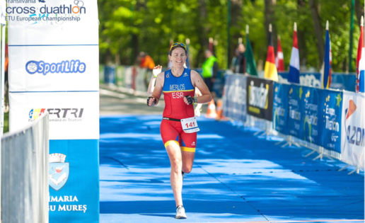 Isabel Merlos es la nueva campeona de Europa de Du Cross