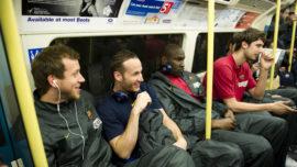 El Barcelona, en metro a por la Final Four