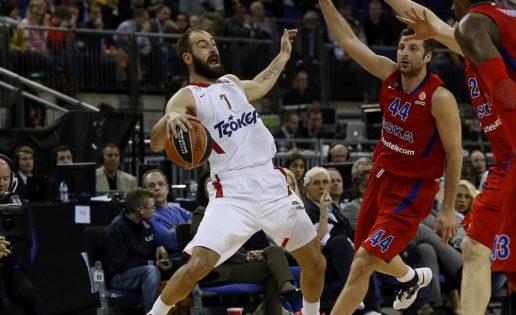 El Olympiacos, una máquina perfecta de destruir el baloncesto