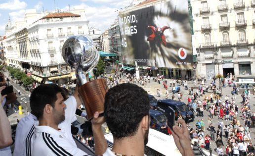 La celebración del Real Madrid: gafas de sol, codazos y manifestaciones