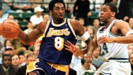 Kobe Bryant, de su primer punto al último