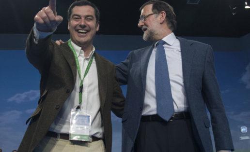 """El """"dedo divino"""" de Rajoy"""