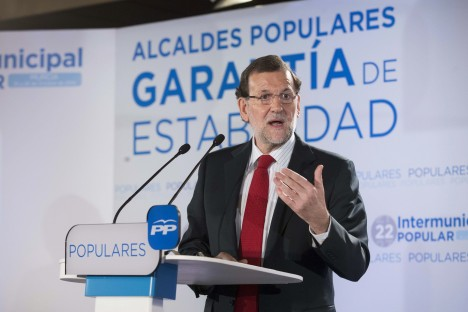 RAJOY CLAUSURA INTERMUNICIPAL POPULAR